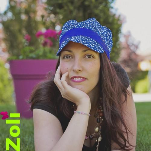 Chapeau Zoli pour femme/fille bleu