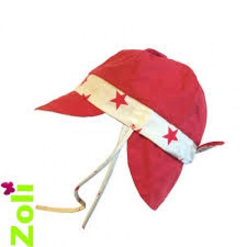 Chapeau Zoli bébé/enfant Cosmic rouge