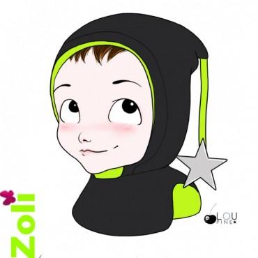 Zoli - Capuchons polaire enfant 2-6 ans